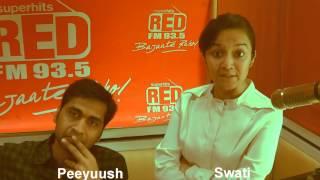 Vishal Dadlani - Pragaash the band - 93.5 red fm Bajaate Raho new delhi