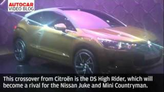 Geneva motor show: Citroen DS High Rider