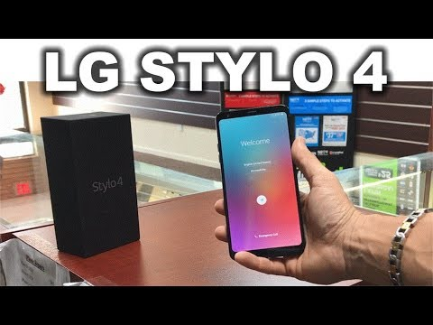 Unboxing and Hands On Review of the LG Stylo 4