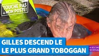 Gilles descend le plus long toboggan du monde