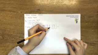 Метод Гаусса решения систем уравнений. Часть 2
