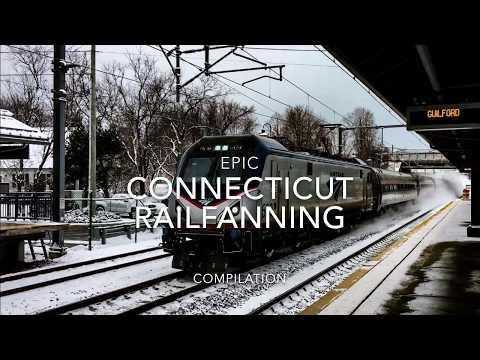 Epic Connecticut Railfanning Compilation, Plus RARE CATCH!!!