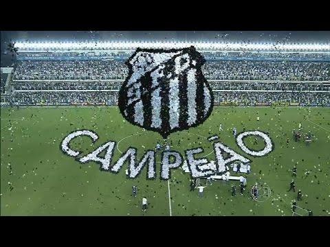 Santos 2 (4x2) 1 Palmeiras (Final) - Santos Campeão Paulista 2015 Completo 03/05/2015