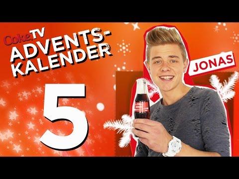 CokeTV Adventskalender: Türchen 5 mit Jonas | #CokeTVMoment