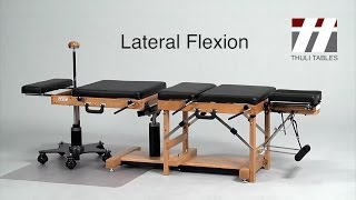 Lateral Flexion for Tour Portable: Thuli Chiropractic Tables