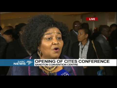 Edna Molewa on the significance of CITES Conference