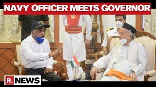 Navy Veteran Madan Sharma Meets Maharashtra Governor; Demands President's Rule