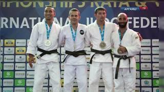 Даниль Биктимиров вернулся с чемпионата мира по дзюдо среди ветеранов