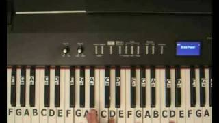 Lady Gaga Bad Romance - Piano Tutorial.wmv