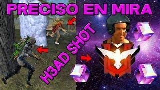 PRECISO EN MIRA!!! HEROICOS!! ABAJO!!! GOLEM!!! LATAM!! 2019!!! FREE FIRE REVISA MI CASO #22