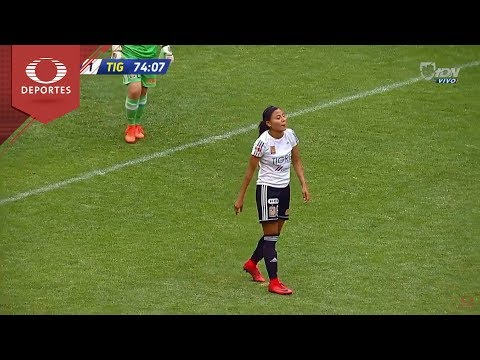 Autogol de Nancy Guadalupe | América 2 -  1 Tigres | Liga Femenil | Televisa Deportes