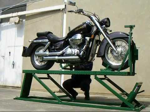 Radionički Sto Za Motocikle Lift Table Motorcycle Youtube