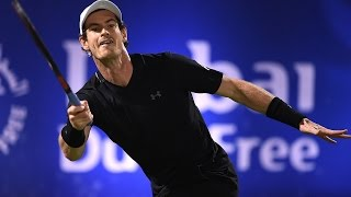 Murray Saves Match Point In Style Dubai 2017