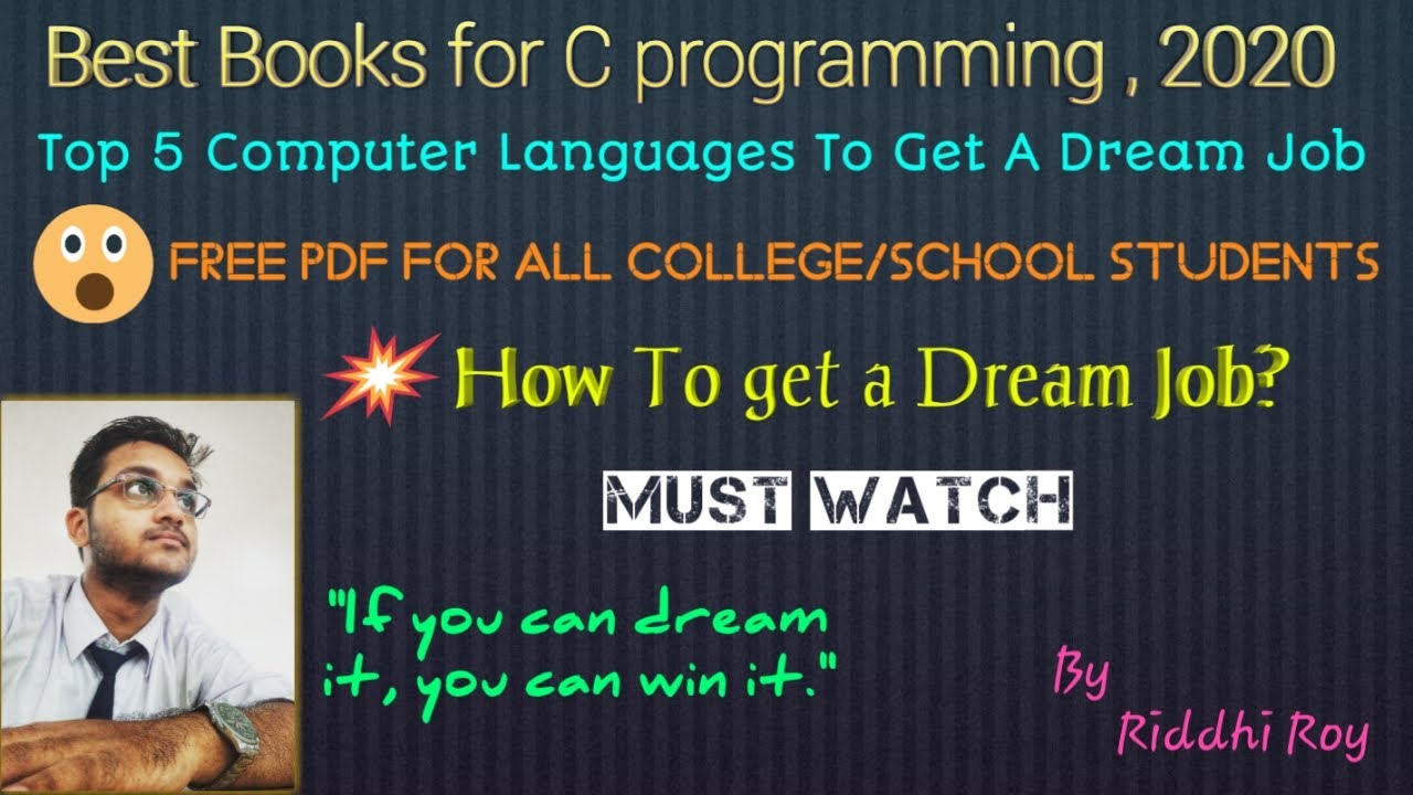 Best c programming books for college Students|most popular computer  Languages to get a dream job