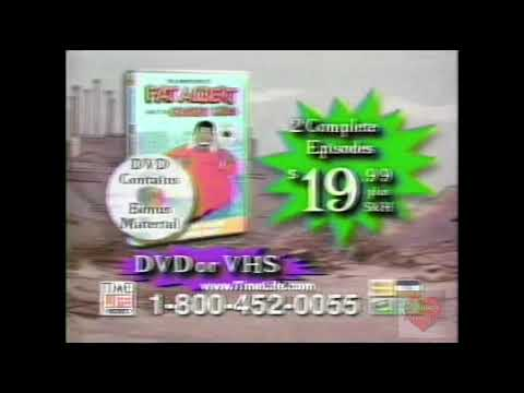 Fat Albert | DVD VHS | Television Commercial | 2003 | Time Life