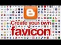 How to Change or Remove Blogger Favicon and How to Create New Favicon