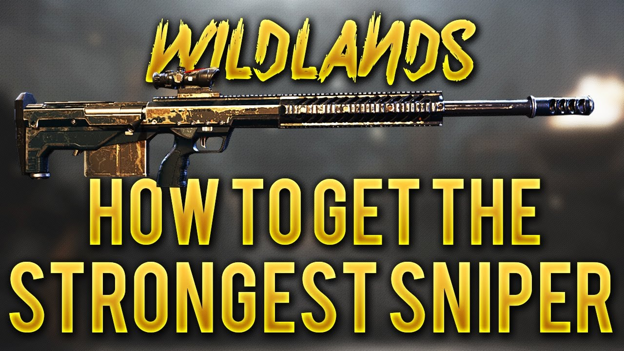 GHOST RECON WILDLANDS - How To Get The HTI Sniper Rifle (Strongest In The Game) Easy - Gameplay