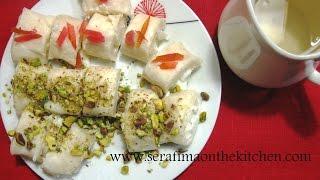 Арабские сладости с сыром  Халяуват джибн