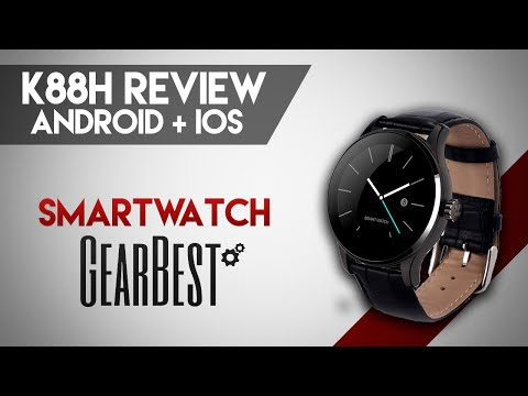 Smartwatch K88H | Android + IOS | Review en Español