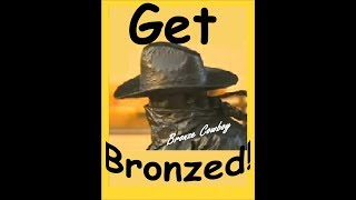 Bronze Cowboy's way of spreading laughter 79