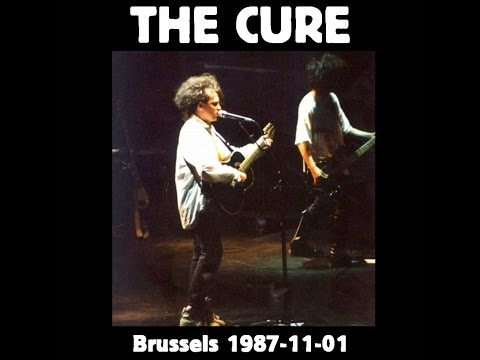 The Cure 1987 Full Concert Rare Forest National, Bruxelles, Belgium