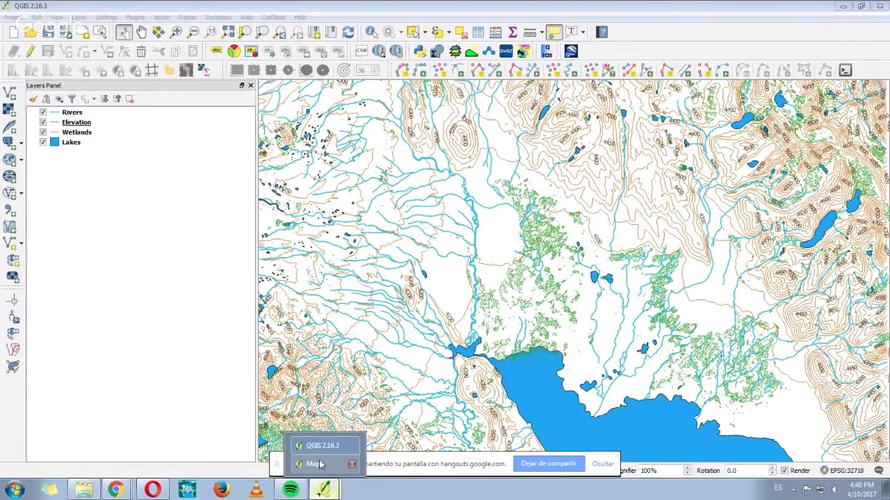 How to make a map using QGIS