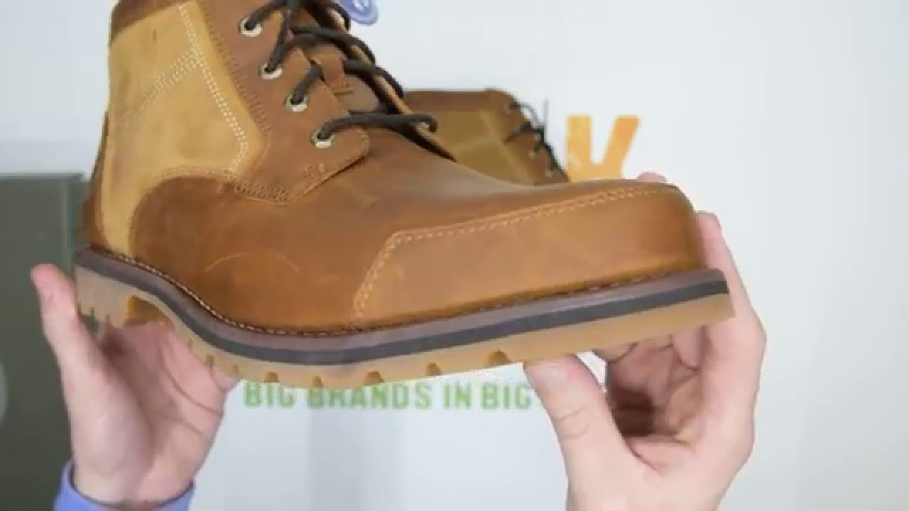 571be453b27 Timberland Earthkeepers Larchmont Chukka - Red / Brown - Walktall |  Unboxing | Hands on