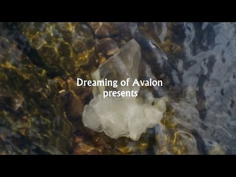 A Visual and Sound Meditation with Quartz Crystal and Mountain Stream