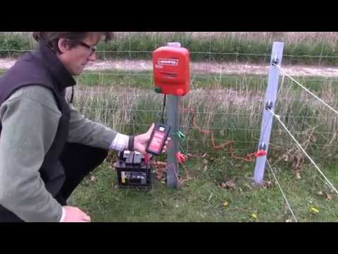 How to test an electric fence - YouTube