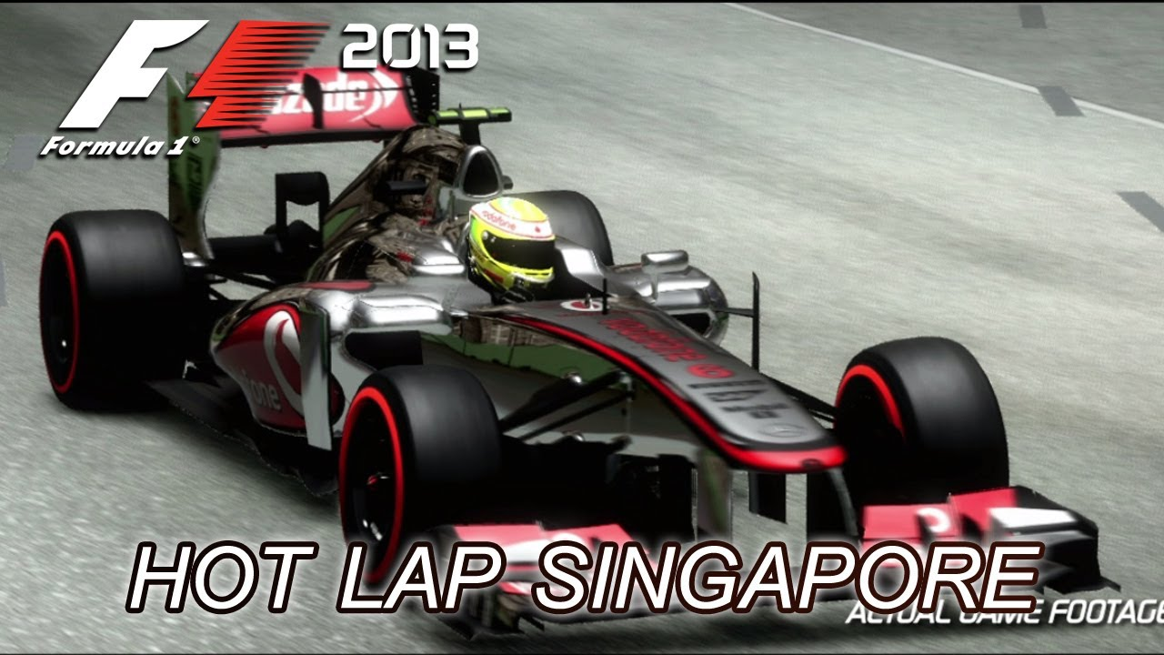 F1 2013 - PS3/X360/PC - Singapore Hotlap (Gameplay Trailer)