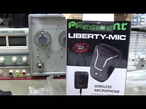 #149 Why and how to connect the President Liberty Mic to an amateur radio