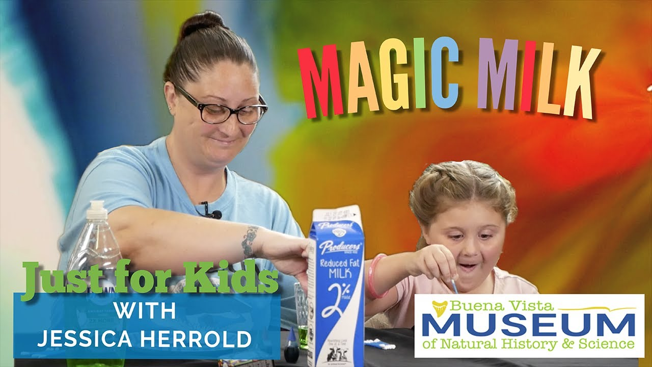 Just for Kids STEM Activities: Magic Milk