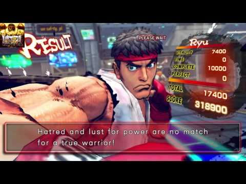 ULTRA STREET FIGHTER IV PS4 60FPS