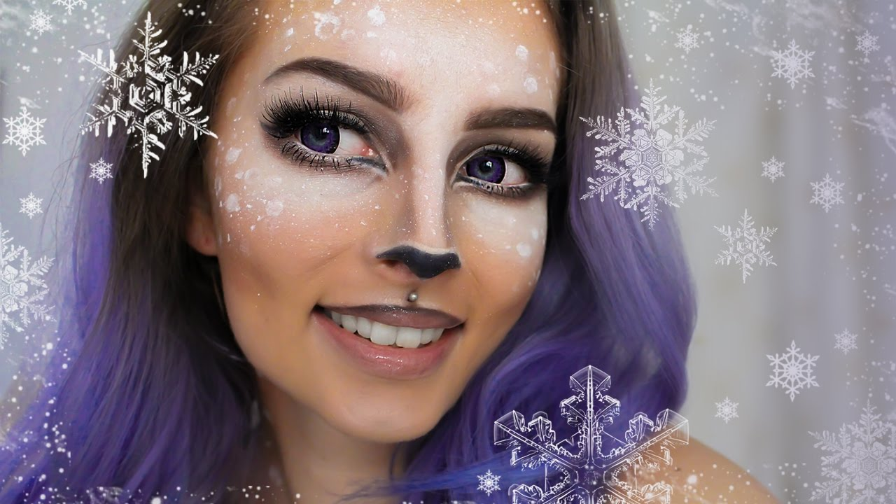 Makijaż Na Sarenkę Deer Makeup Tutorial Youtube