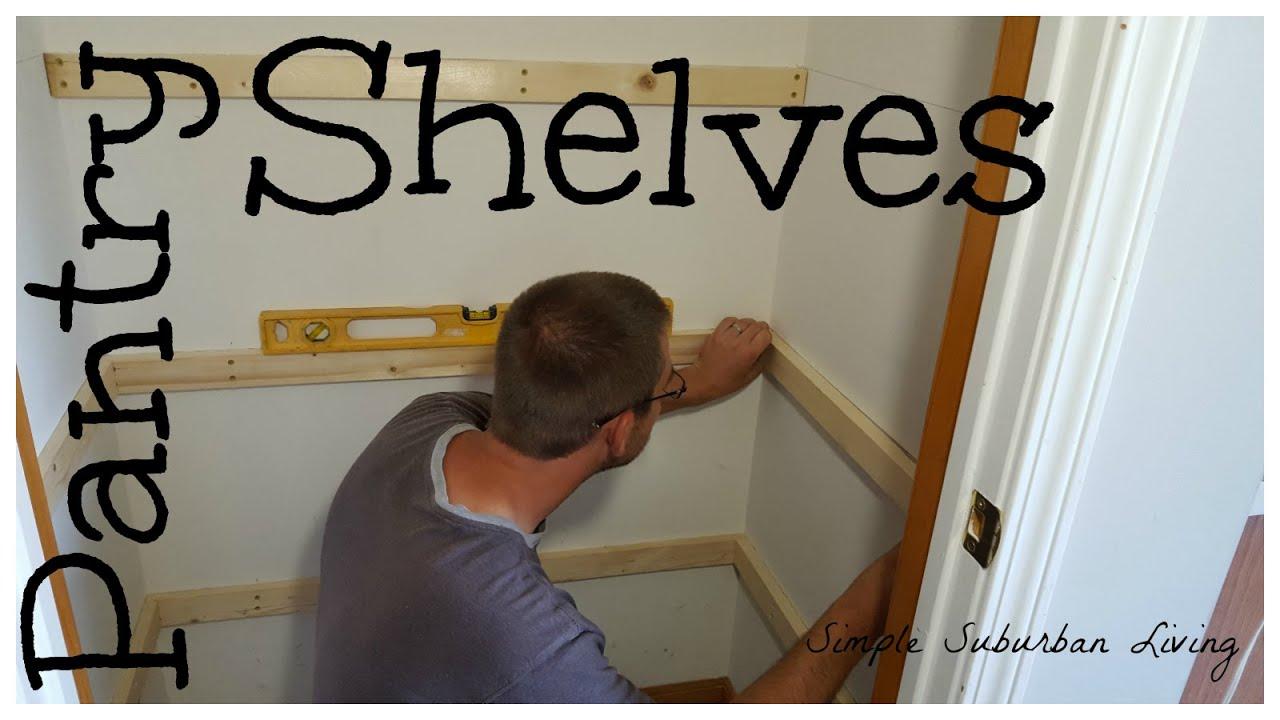 foto de Simple Pantry Shelving - YouTube