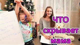 ЧТО СКРЫВАЕТ МАМА / Челлендж Кто Лучше Знает Маму