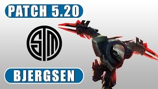 TSM Bjergsen | Zed vs Annie | Mid | October 19th, 2015 | Season 5 | Patch 5.20