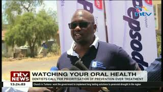 Dentists urge Kenyans to prioritize prevention of oral diseases
