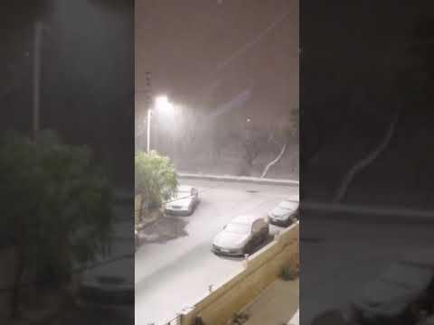Amman jordan snow storm 1/16/2019