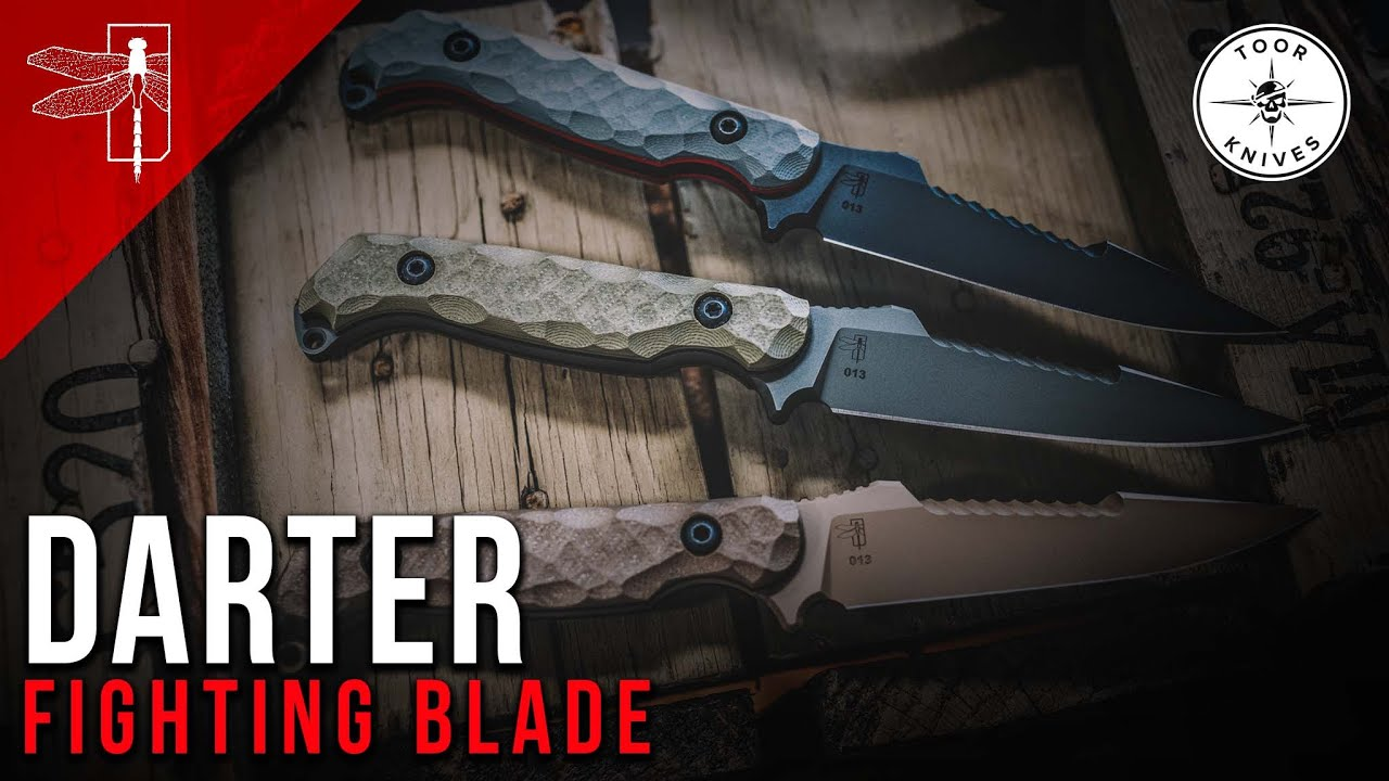 Download THE DARTER FIGHTING BLADE W/ TOOR KNIVES