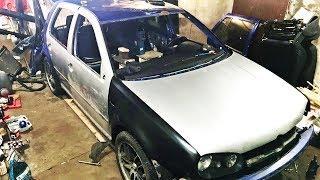 ПЕРЕВЕРТЫШ VW GOLF 4 GTi TURBO. Кузовное безумие. Серия 3(, 2018-02-22T13:08:31.000Z)