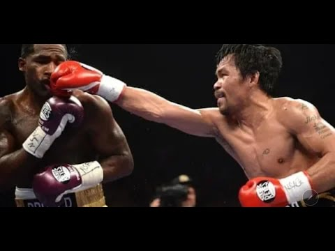 Manny Pacquiao vs Adrien Broner Highlights