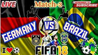 Live Football Germany Vs Brazil Fifa Match My 3 Match