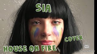Sia - House On Fire - Carina Cover live at DioBar BCN