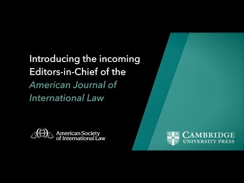 Introducing the Editors-In-Chief of the American Journal of