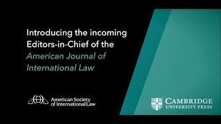 American Journal of International Law | ASIL