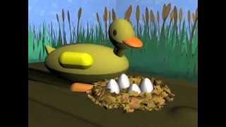 Mi Primer Corto de Animación CG (2011) ''El Patito Feo''