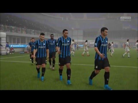 Fifa 16: (Christmas game) Inter Milan VS. PSG