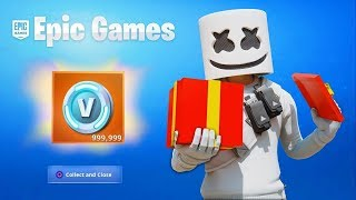 ALL PLAYERS CAN GET FREE V BUCKS IN FORTNITE! (Did you get them?)
