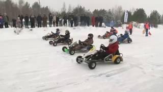 Зимний картинг Ликино-Дулёво